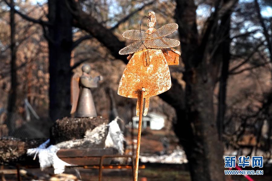 (國際·圖文互動)(9)一場山火,讓這個冬天格外冷——探訪美國加州山火災區