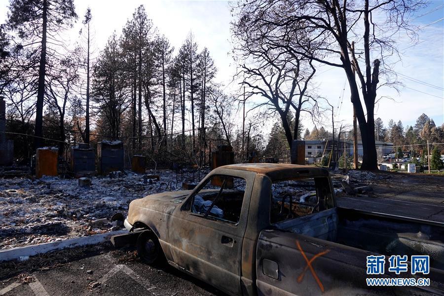 (國際·圖文互動)(11)一場山火,讓這個冬天格外冷——探訪美國加州山火災區