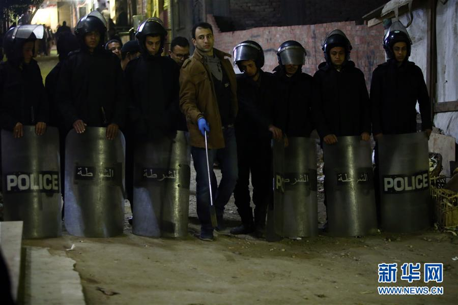(国际)(1)埃及首都开罗发生炸弹爆炸事件