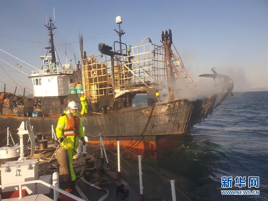 (國際)(1)韓國漁船起火釀死傷 一名中國公民失蹤