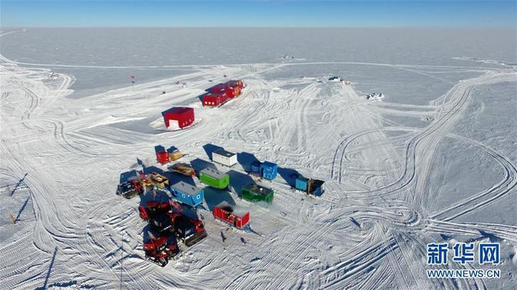 (圖文互動)(6)中國第35次南極科考隊昆侖隊撤離南極冰蓋之巔