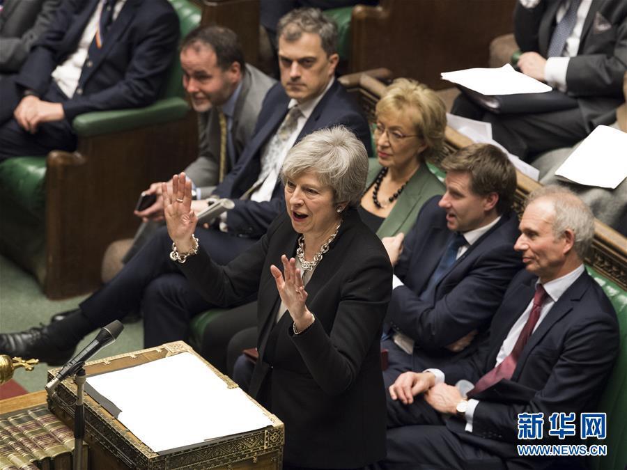 """(国际)(2)英国议会下院对""""脱欧""""协议替代方案进行辩论"""