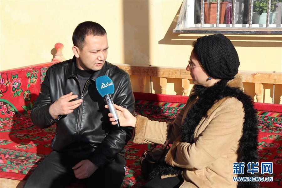 (圖文互動)(4)埃及媒體探訪新疆 感受穩定認可去極端化成就