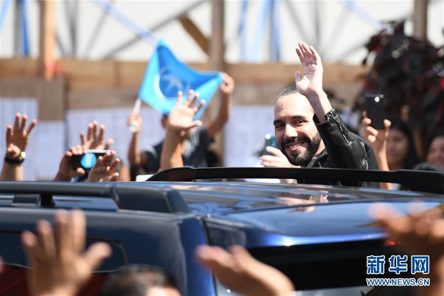 (国际)(1)萨尔瓦多总统选举正式开始投票