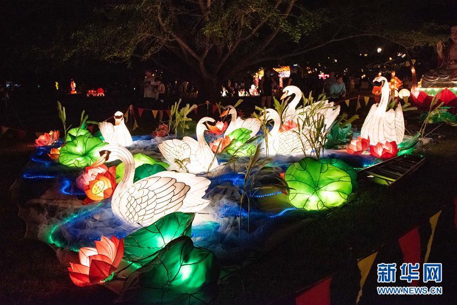 (國際)(2)新西蘭奧克蘭舉辦盛大元宵燈節