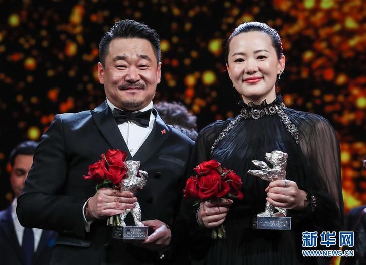 (國際)(1)中國演員獲第69屆柏林電影節銀熊獎