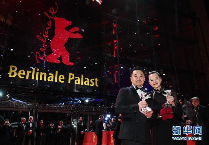 (国际)(7)中国演员获第69届柏林电影节银熊奖