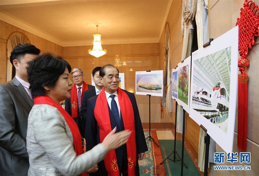 朝鲜总理前来中国大使馆共庆元宵节