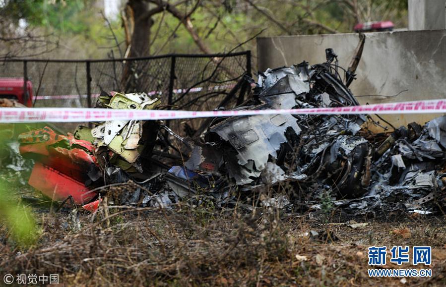 印度空军两架飞机彩排时相撞坠毁