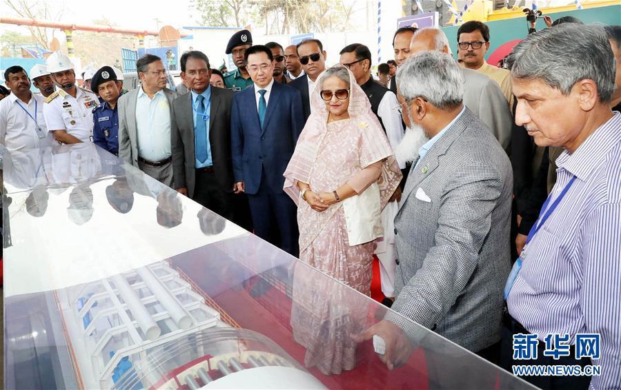 (国际)中国制造助力孟加拉国首条河底隧道项目
