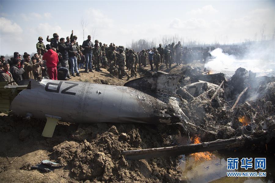 (国际)巴基斯坦军方称击落两架侵入巴领空的印度军机