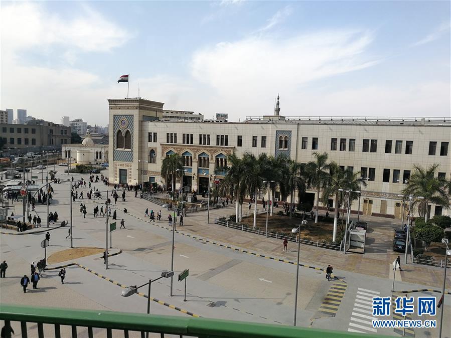 (国际)(2)埃及一火车站发生火灾致重大人员伤亡