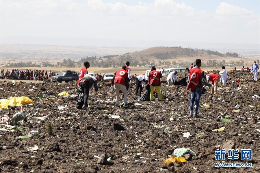 (国际)(2)埃塞俄比亚载有157人的客机坠毁无人生还