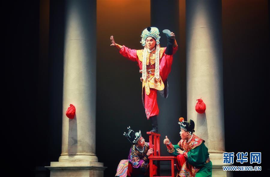(習近平出訪配合稿·圖文互動)(2)通訊:當中國京劇遇上意大利歌劇——人文交流助力中意兩國民心相通