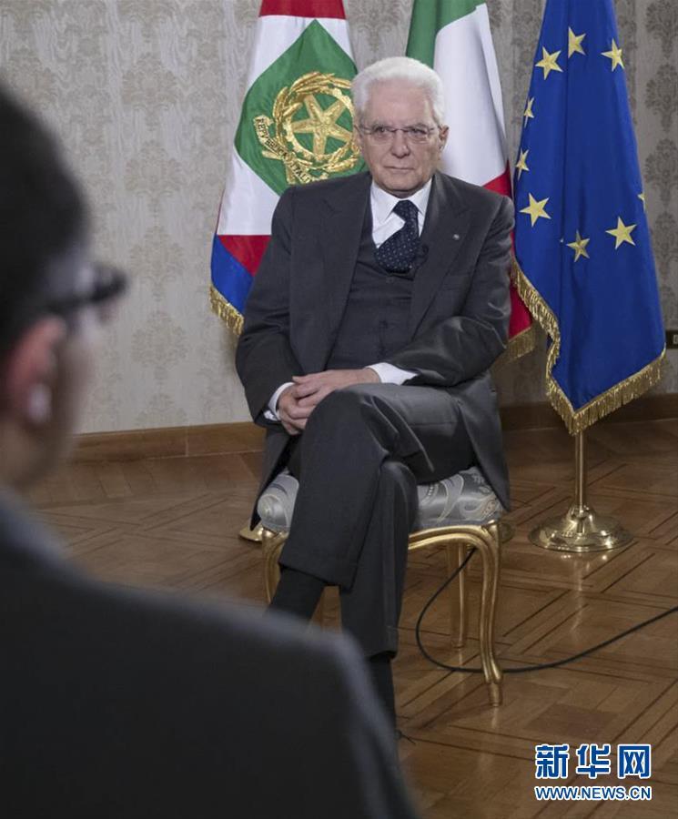 (出訪配合·高端訪談·圖文互動)專訪:意中全面戰略伙伴關系擁有堅實基礎——訪意大利總統馬塔雷拉