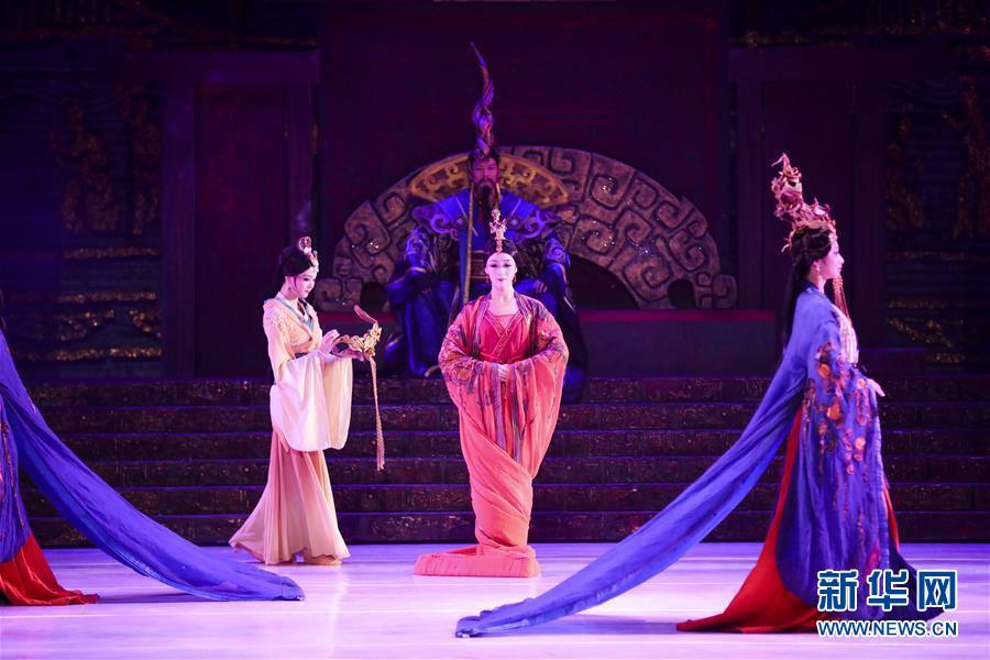 (國際)(2)舞劇《昭君出塞》在紐約上演