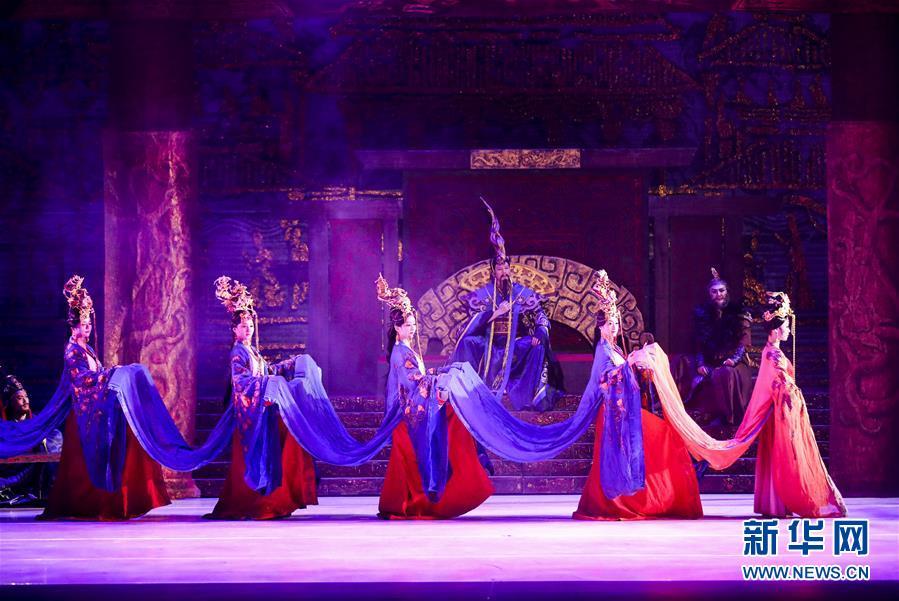 (國際)(3)舞劇《昭君出塞》在紐約上演