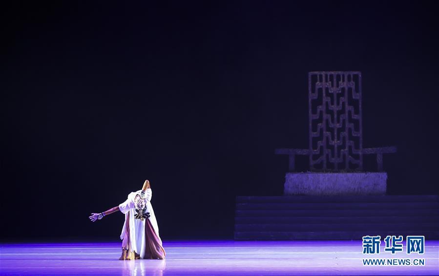 (國際)(5)舞劇《昭君出塞》在紐約上演