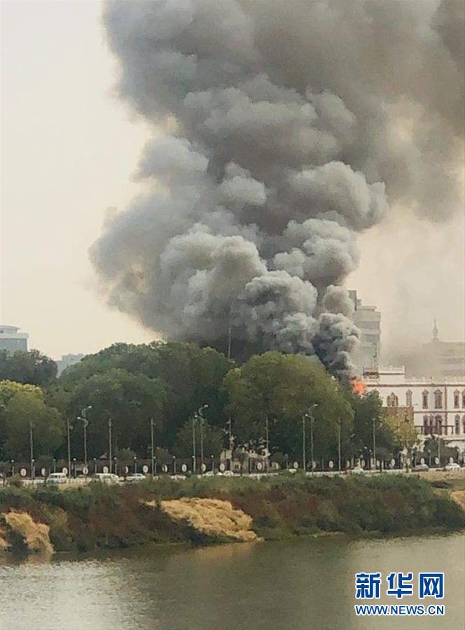 (國際) 蘇丹舊總統府發生局部火災
