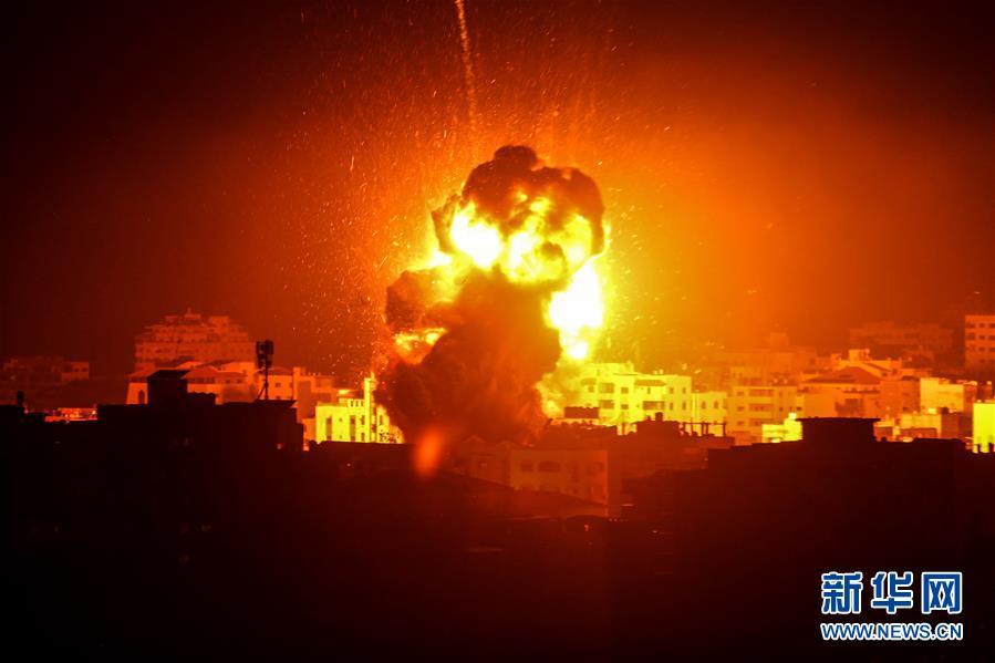 (国际)(2)以色列对加沙地带实施报复性空袭