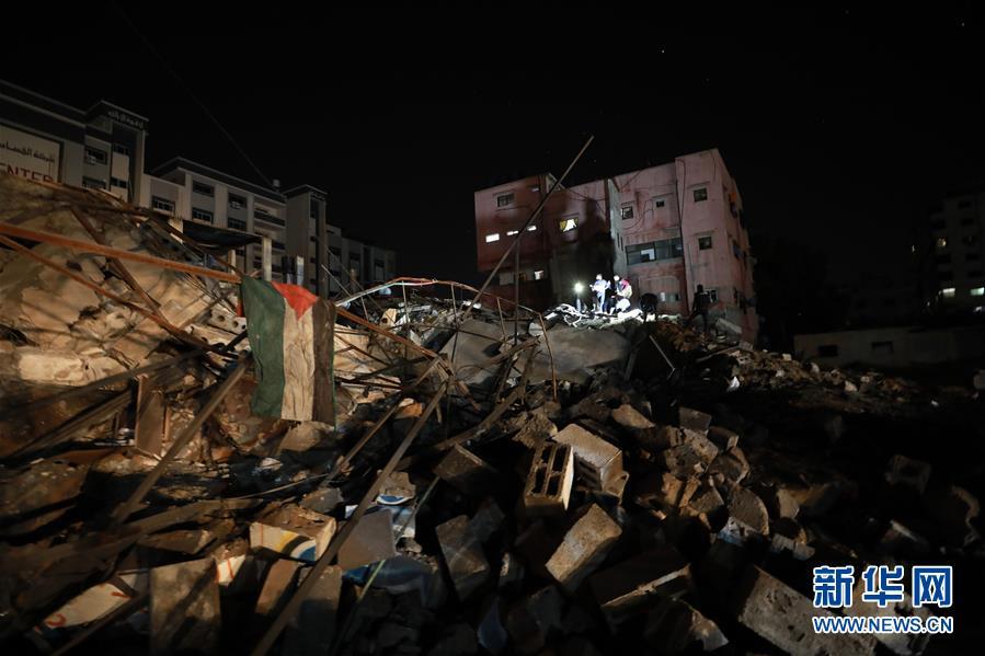 (国际)(4)以色列对加沙地带实施报复性空袭