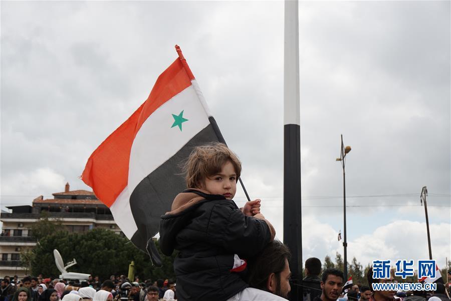 """(國際)(6)敘利亞表示堅決反對美方承認以色列對戈蘭高地的""""主權"""""""