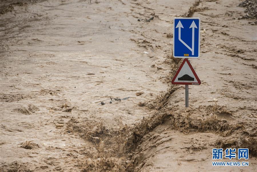 (國際)(1)伊朗全國大部受到洪災影響