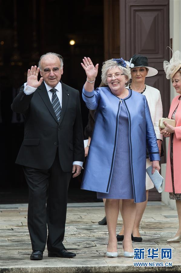 (國際)(1)馬耳他新總統宣誓就職