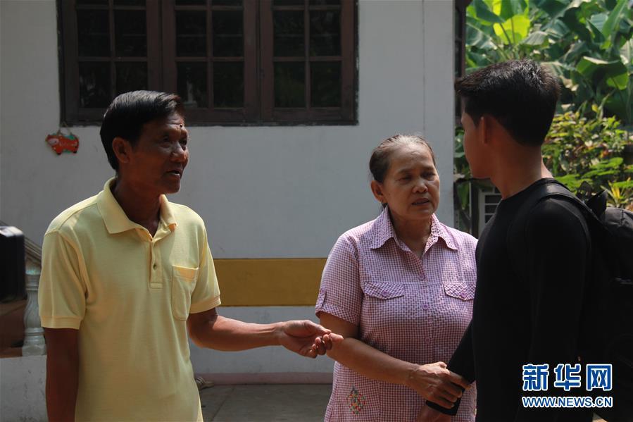 """(國際·""""一帶一路""""高峰論壇·圖文互動)(5)通訊:泰國青年阿努帕的火車司機夢"""