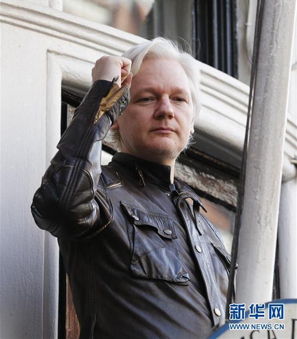 """美国指控""""维基揭秘""""创始人阿桑奇涉嫌破解美涉密电脑密码"""
