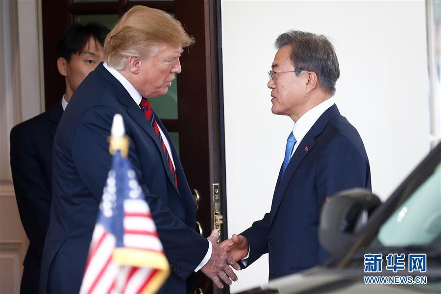 (澳门葡京游戏)(1)美韩领导人表示将继续推动美朝对话