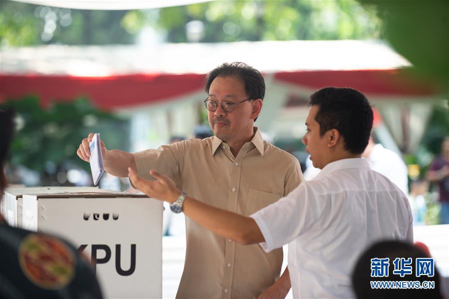 (国际)(6)印度尼西亚举行总统选举