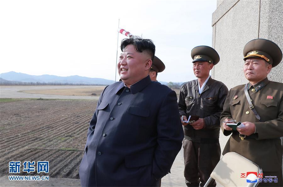 (国际)金正恩突击视察朝鲜人民军部队