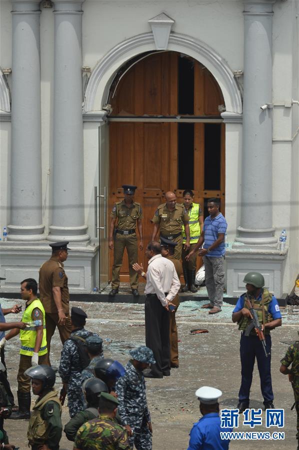 (國際)(2)斯裏蘭卡首都多處發生爆炸 傷亡嚴重