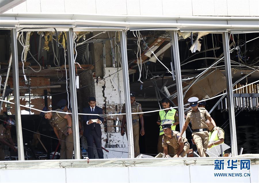 (国际)(6)斯里兰卡系列爆炸遇难人数升至207人