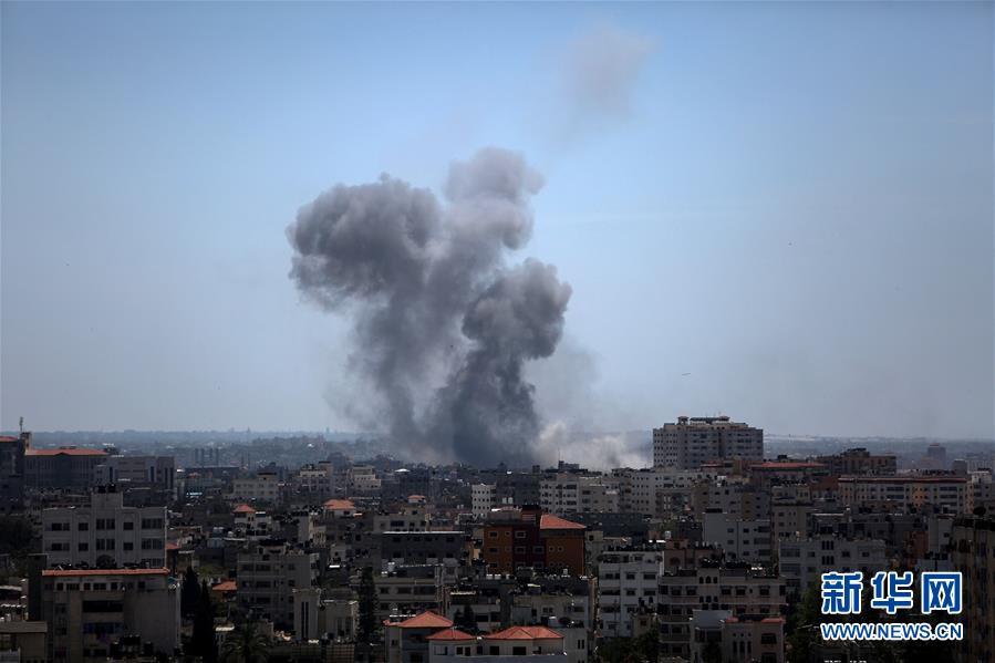 以色列轰炸加沙地带军事目标致1名巴勒斯坦人死亡