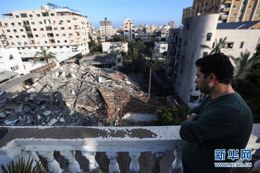 """(国际)(8)巴勒斯坦总统谴责以色列对加沙地带""""侵略升级"""""""