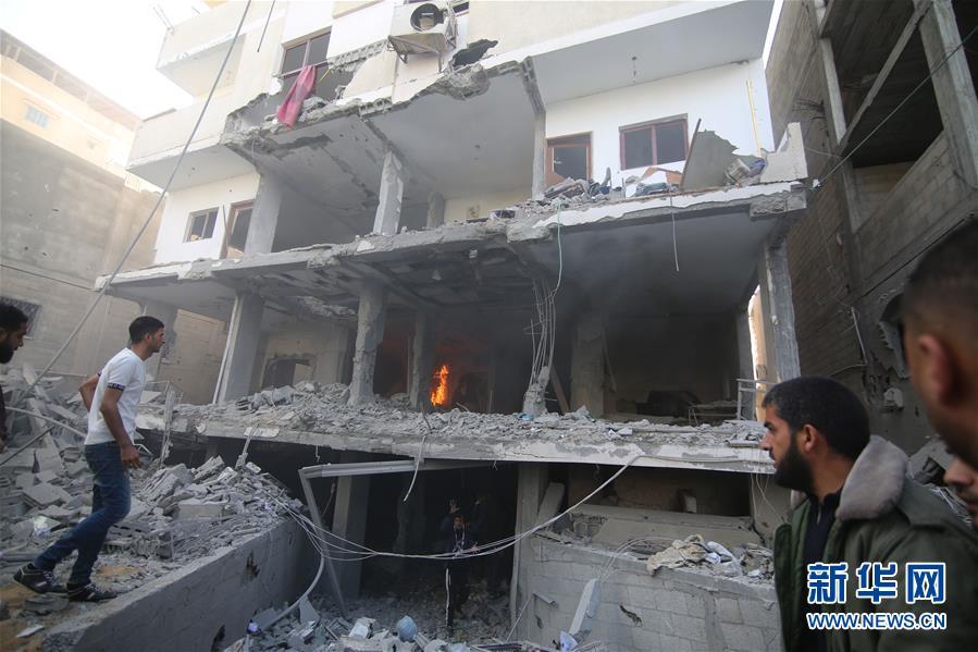 (国际)(3)巴以冲突升级已致20多人丧生逾200人受伤