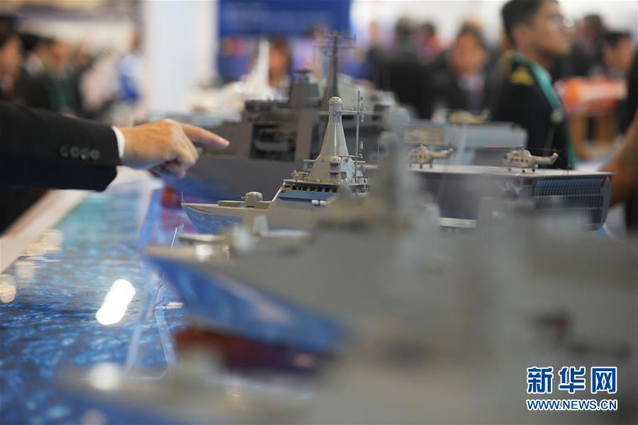 (國際)(1)第12屆亞洲國際海事防務展在新加坡開幕
