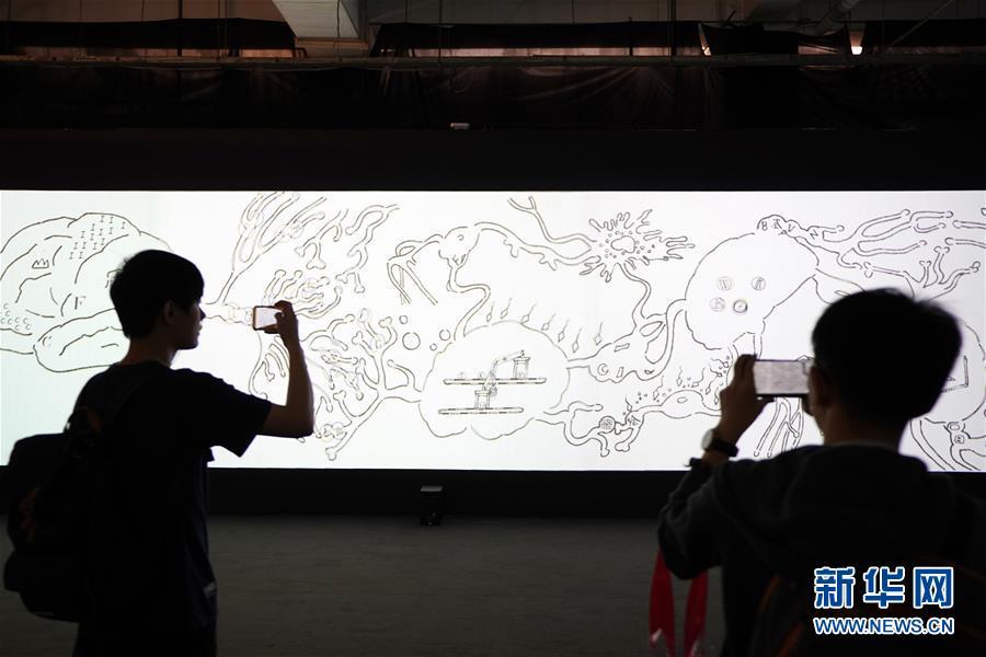 (亞洲文明對話大會)(4)亞洲數字藝術展在京開幕