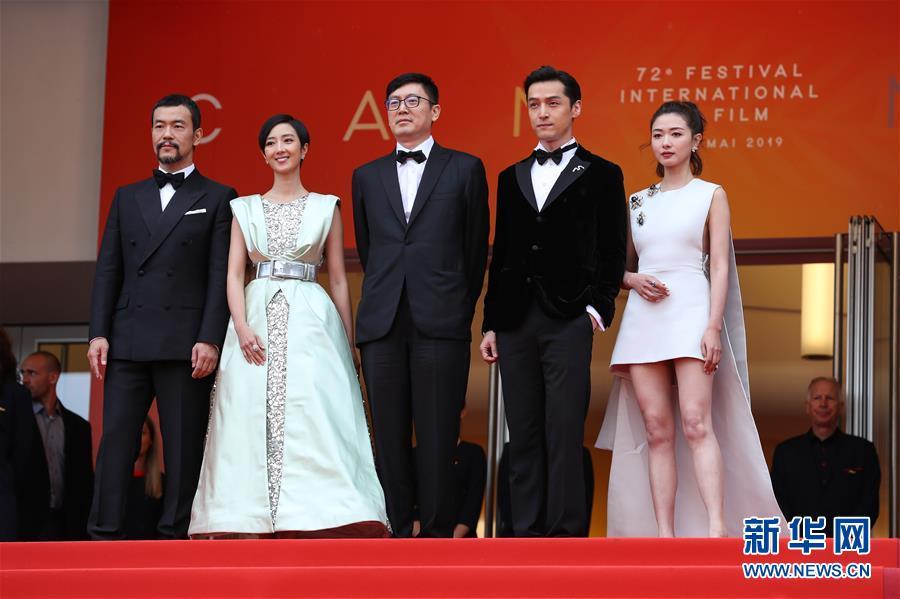 (國際)(5)戛納電影節:中國影片《南方車站的聚會》首映