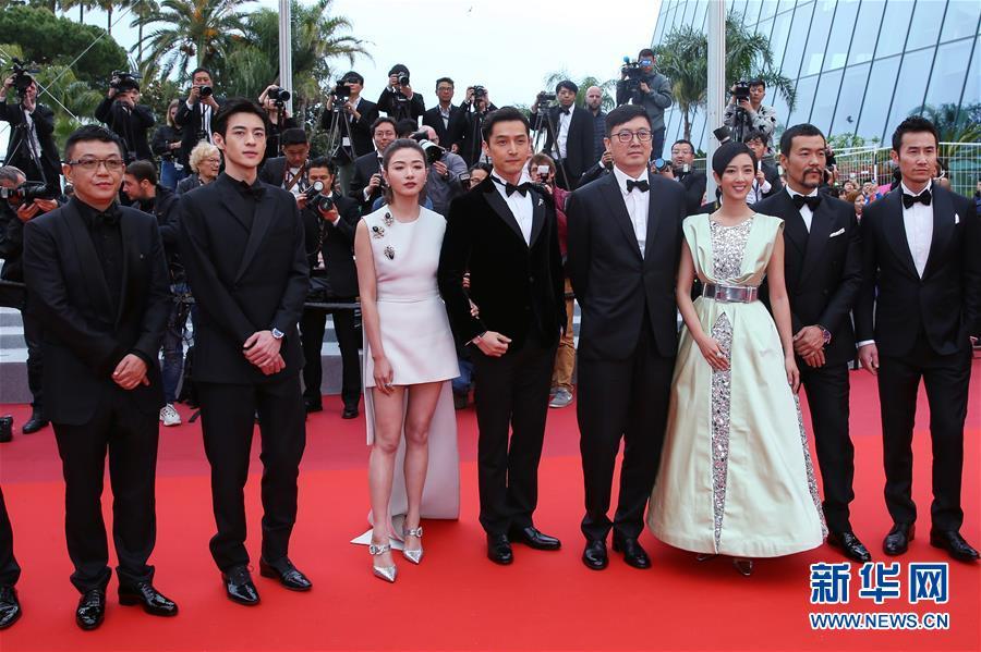 (國際)(6)戛納電影節:中國影片《南方車站的聚會》首映