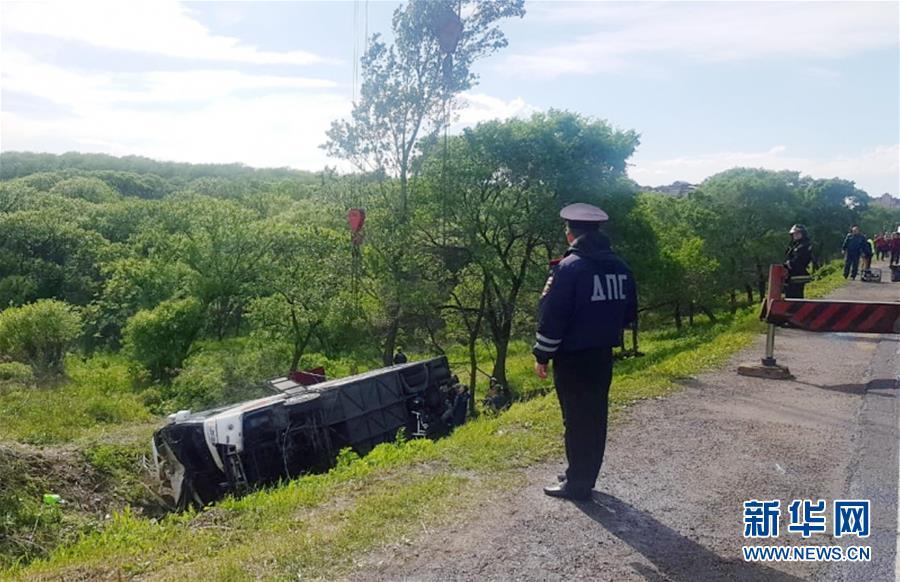 中国游客在俄滨海边疆区遭遇车祸2人死亡