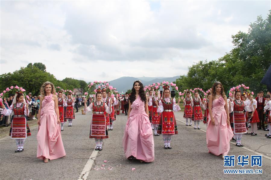 (國際)(1)保加利亞慶祝玫瑰節