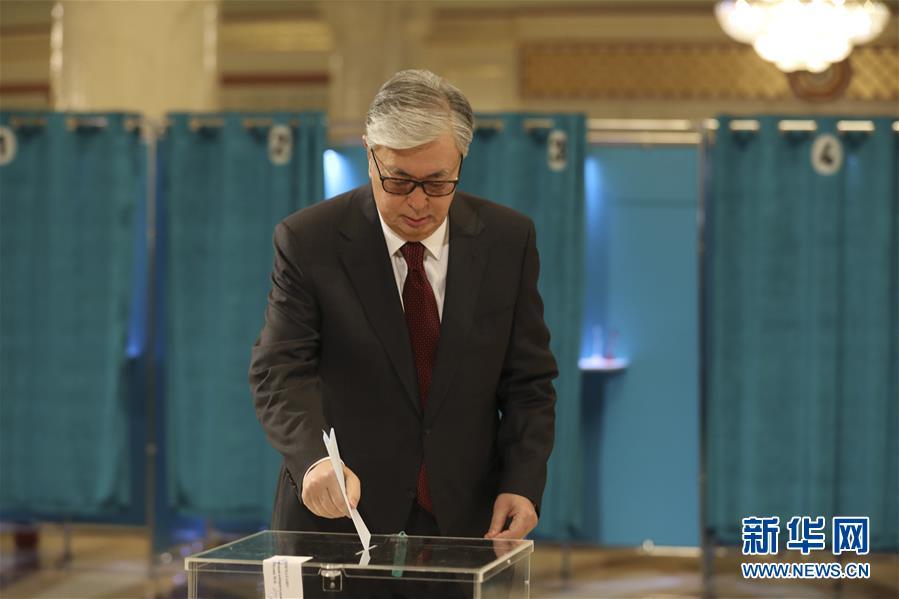 (國際)(1)哈薩克斯坦舉行總統選舉