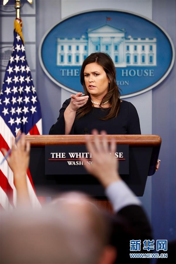 (国际)(2)美国白宫新闻秘书桑德斯将去职
