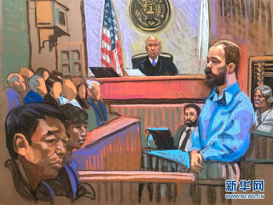 (国际)(1)克里斯滕森绑架和谋杀中国学者章莹颖罪名成立