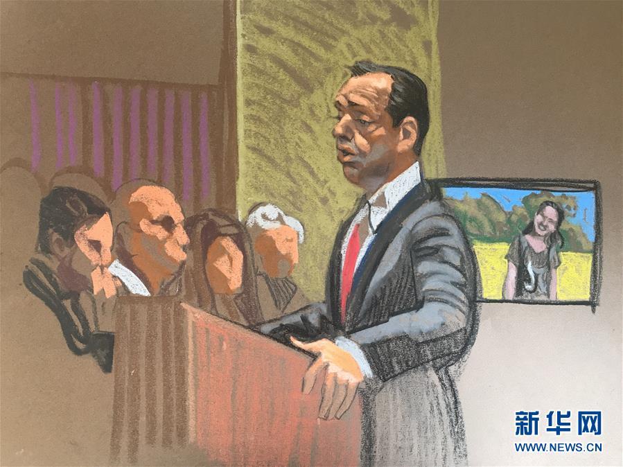 (国际)(2)克里斯滕森绑架和谋杀中国学者章莹颖罪名成立