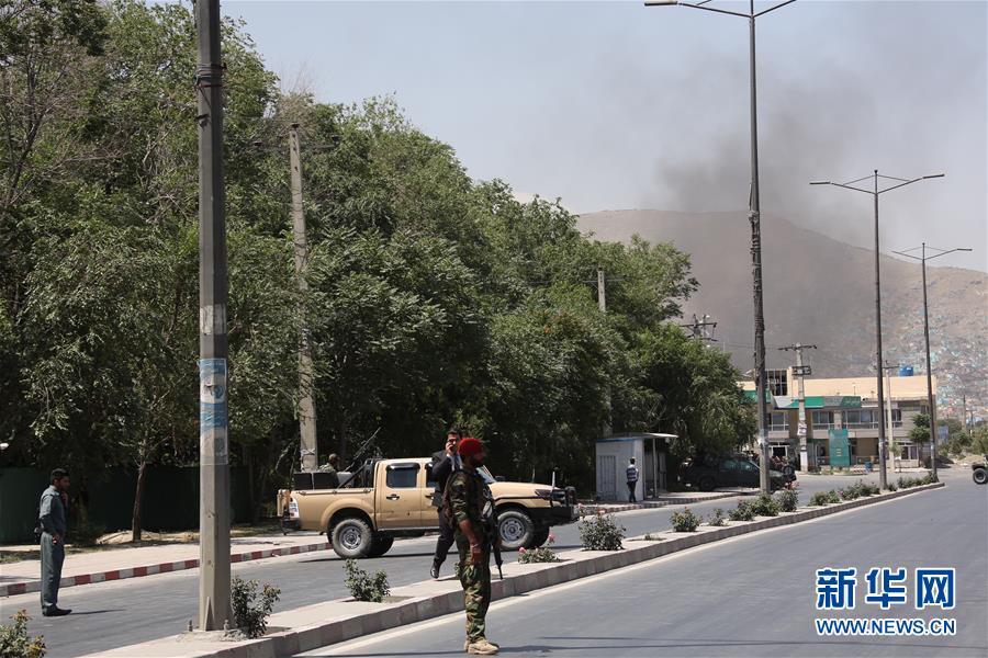 (國際)(1)阿富汗首都喀布爾發生爆炸