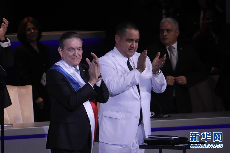 (國際)(1)巴拿馬新總統宣誓就職